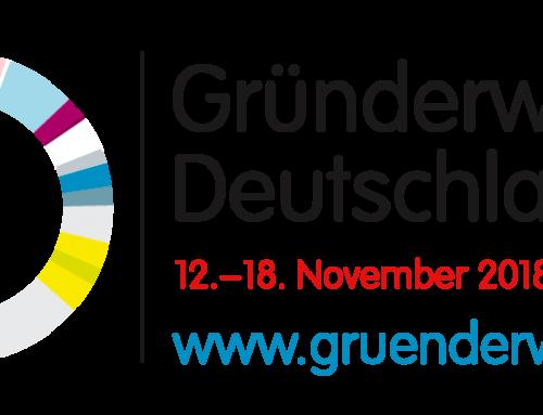 Gründerwoche Deutschland 2018 – STARK AM MARKT ist dabei!
