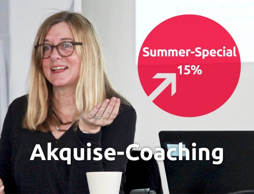Akquise-Coaching: Lust auf ein face-to-face-meeting?