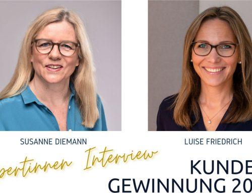 Susanne Diemann und Luise Friedrich im Gespräch über klassische Kunden-Probleme und deren Lösungen
